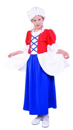 RG Costumes Betsy Ross Costume, Child Small/Size 4-6 by RG Costumes