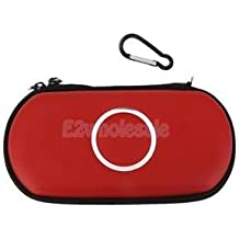 SLB Works Brand New Red Waterproof Case Bag Pouch For Sony PSP Slim 1000 2000 3000 Game Console