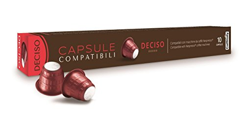 Purchase Nespresso Deciso Premium Pods by Caffitaly (Pack of 10) from Nespresso