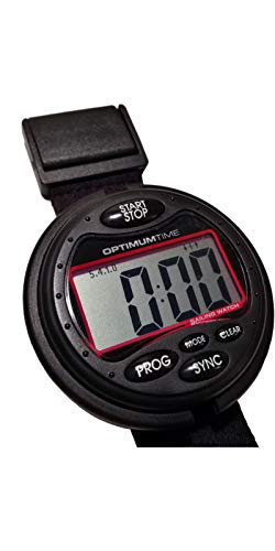 Optimum Time Series 3 OS3 Segelyacht und Jollenuhr Exklusiv Black Edition 311 - Unisex - Einstellbarer Betrachtungswinkel -