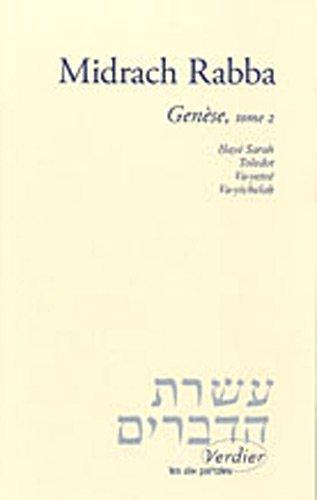 Midrach Rabba : Genèse, tome 2