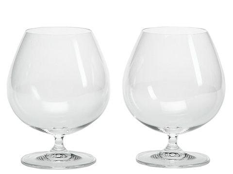 RIEDEL 6416/18 Vinum Brandy, 2-teiliges Brandyglas Set, Kristallglas -