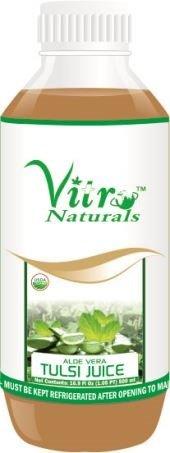 Vitro Certified Organic Aloe Tulsi Juice 500 ml  available at amazon for Rs.250
