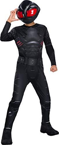 Rubie's 641364M Offizielles DC Aquaman The Movie, Kinderkostüm, Manta Supervillain Kostüm, Größe M, Alter 5-8 Jahre, Mehrfarbig
