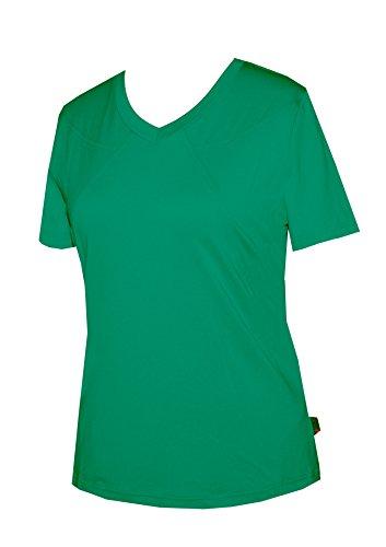 Schneider Sportswear Damen T-Shirt Pulli Sport Shirt Laufshirt pfauengruen