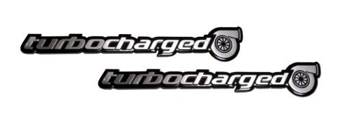 2 YAMAHA R1 R6 TURBO TURBOCHARGED EMBLEMS BADGES ENGINE