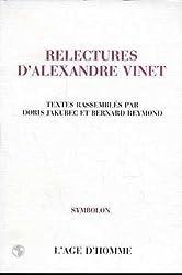 Relectures d'Alexandre Vinet