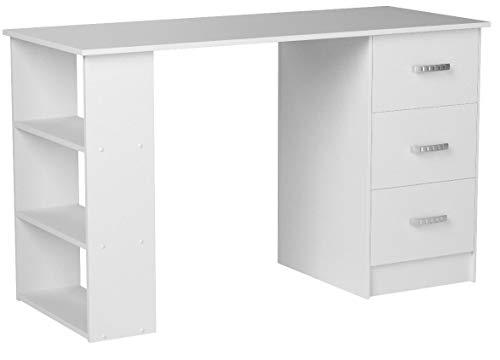 Comifort - Scrivania da ufficio, 120 x 49 x 72 Moderno 120 x 49 x 72 cm bianco