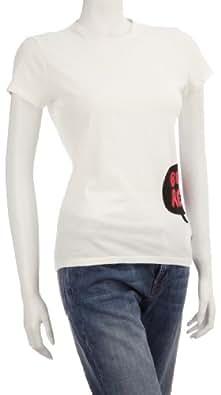 Eastpak Women's Shelby T-Shirt White Bubble EA788C96 Medium