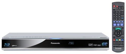 Panasonic DMR-BST701EG 3D-Blu-ray-Recorder 320GB, 2x CI Plus, WLAN, Skype, 2x USB Eingang) silber -