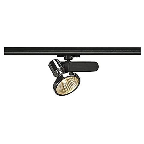 SLV D-Rection G12 Spot, inklusive 3 Pin Adapter, 70 W, schwarz / chrom 153730