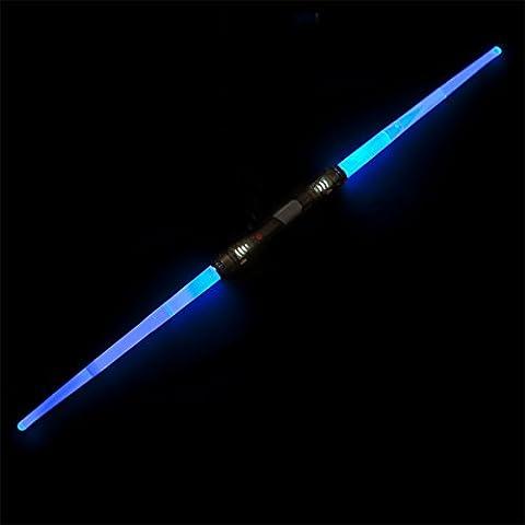 Luce spada con lama doppia - Laser spada con illuminazione & Sound