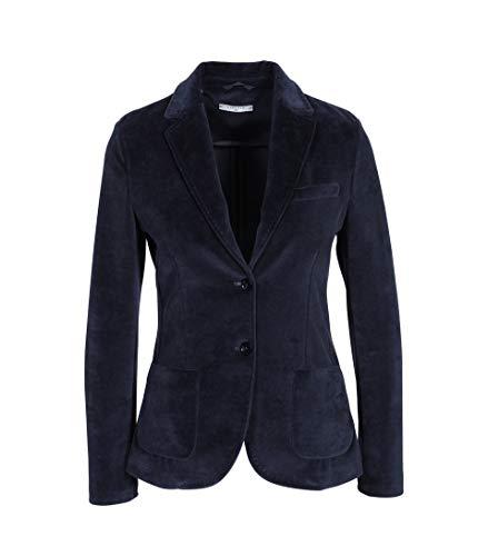 CIRCOLO 1901 Damen Samt-Blazer in Dunkelblau 003 Blue 42