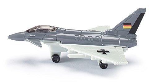 Siku 0873 - Kampfjet (farblich sortiert) (Spielzeug Auto Flugzeug)