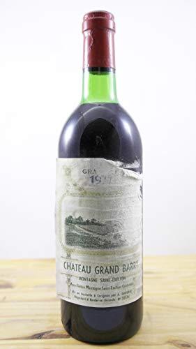 Vino Cosecha 1977 Château Grand Barry LB Botella