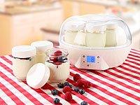 Rosenstein & Söhne Joghurt Maker mit Portionsgläsern (7 x 150 ml) - 3