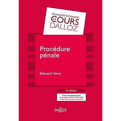 Procédure pénale - 6e éd.