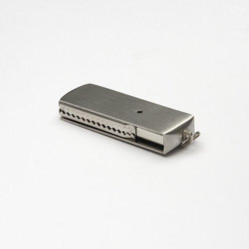 (aricona Mini Metall USB Stick mit 8GB Speicherkapazität USB 2.0 Speicherstick, Plug & Play Funktion, sicher und stabil)