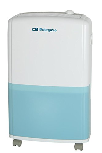 Orbegozo DH 1810 Deshumidificador 18 L, Azul, Blanco,