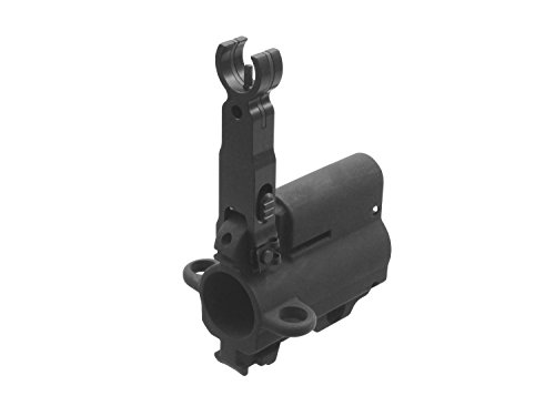 Z Parts Airsoft CNC Front Folding Sight Tower Set/Gasabnahme inkl. FlipUp Sight für VFC HK416 -
