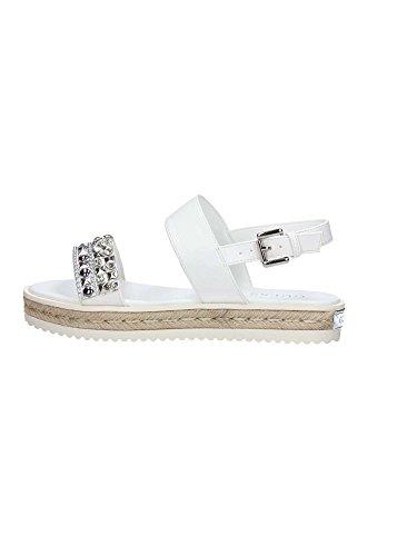 Guess FLAAR2 FAB03 Sandalo Donna Bianco