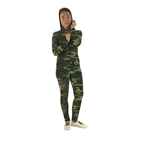 Gazechimp Unisex Camouflage Catsuit Karnevalskostüm Spandex Ganzkörper Bodysuit Cosplay Halloween Kostüm - - Ganzkörper-spandex-halloween-kostüm