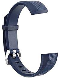 Scpink Correas Fitbit Alta, Banda de reemplazo de Silicona para Fitbit Alta HR/Ace y Banda Alta con Cierre de Metal (D)