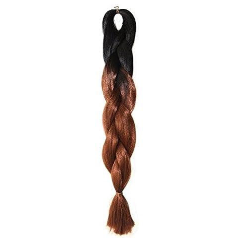 Haarverlaengerungen - TOOGOO(R) 5 Saetze 24