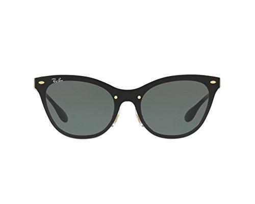 Ray-Ban Damen Sonnebrille Gold Goldfarben matt 43