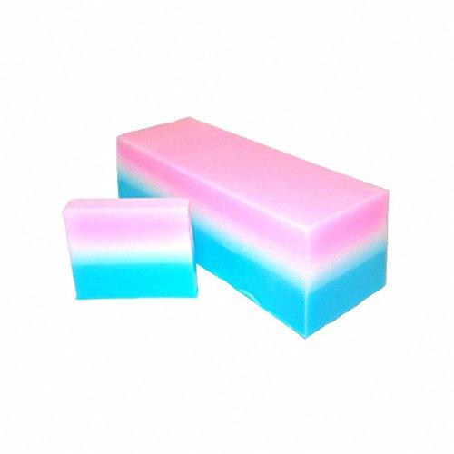 Baby Powder Soap Slice, handgefertigt, ca. 100gr. Seife. ein perfektes Geschenk; ideal für Geburtstage, Christmas...... -