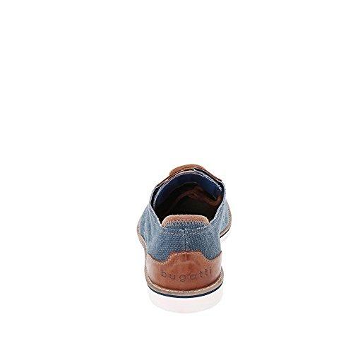 Bugatti 311451026910, Scarpe Stringate Derby Uomo Blau/Cognac