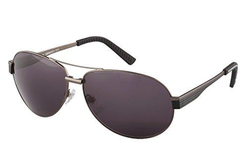 Klassische Marken Sonnenbrille für Herren von Burgmeister mit 100% UV Schutz | Sonnenbrille mit stabiler Metallfassung, hochwertigem Brillenetui, Brillenbeutel und 2 Jahren Garantie | SBM201-111