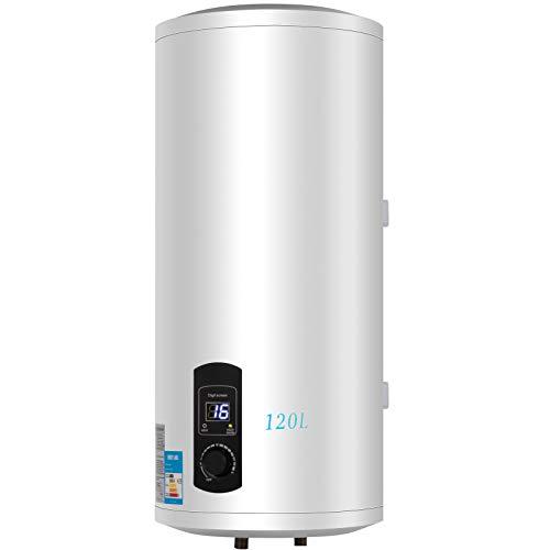 Ukiki Chauffe Eau Electrique 120L Chauffe Eau 3kw Réservoir d'eau Chaude pour Utilisation dans la Cuisine ou la Salle de Bain 120L 3kw 220V