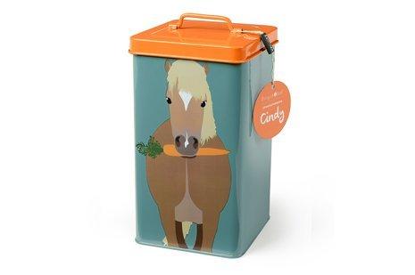 Burgon & Ball creaturewares GCR/Pony Pet Food Aufbewahrungsdose Cindy Pony (Pferd Dekorativen Geschenk-box)