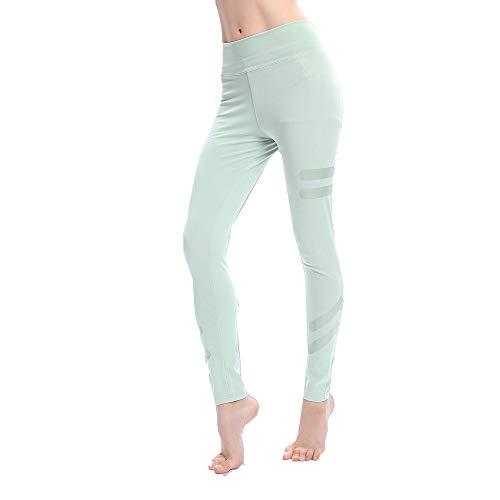 Leggings, High-Waist Lounge Hip Sports Legging, Yoga, Fitness Preferred of Pants, Popular Druck Leim Damenaille Enge Yoga-Lauflegings,XL