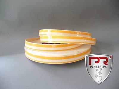 3M Auto Zierstreifen Strips BUTTER/ Gelb - dunkel 12mm x 10m (Streifen 5mm und 2mm) (Trim-Line Collection)