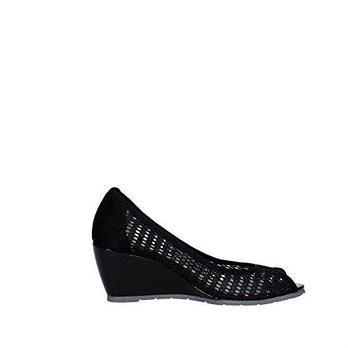 Cinzia Soft 021288CS Open Toe Chaussures Femme Noir
