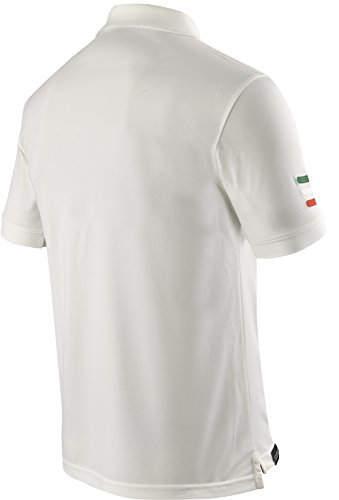 X-BIONIC for AUTOMOBILI LAMBORGHINI Herren Tech Style Pro Man Stripes Flag Ow Short Sleeves Polo Shirt Ice
