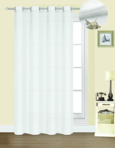 Forentex Cortinas Confección B-0576 Visillos Translúcida