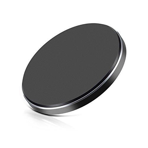Wireless Charger,JinQiu [QI Zertifiziert] Power Bank Ladegerät Drahtlos für Apple iPhone X / iPhone 8/8 Plus, Schnelles drahtloses Aufladeeinheitspad Schlaf-Freundliches drahtloses Aufladeeinheitsständer Schnellladegerät Neuestes Modell Induktive Ladestation für Samsung-Galaxie S9 / S9 Plus / Note8 / Note5 / S9 / S8 / S8 Plus / S7 / S7 Edge / S6 / S6Egde