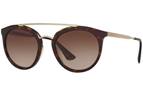 Prada Damen 0PR23SS 2AU6S1 52 Sonnenbrille, Braun (Havana/Brown),