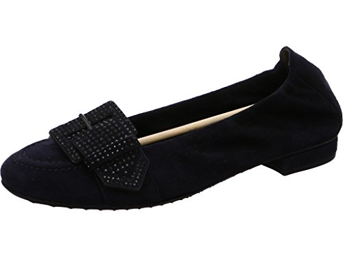 Schuh-Weith 21 91150.488, Ballerine donna Oceano/nero