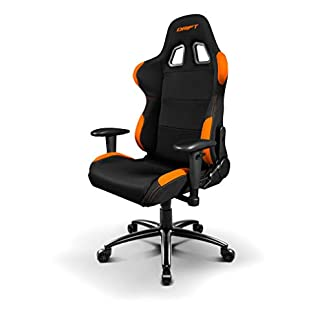 Drift DR100 – DR100BO – Silla Gaming, Color Negro/Naranja