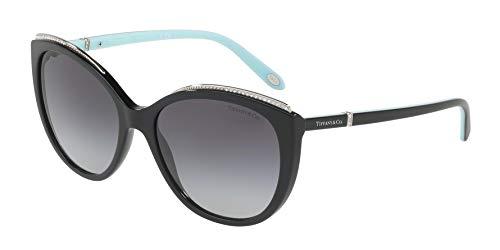 Tiffany & co. 0ty4134b 80013c 56 occhiali da sole, nero (black/gradient), donna