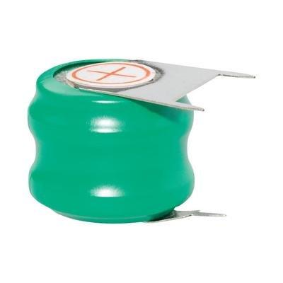 Pile-bouton rechargeable NiMH 2.4 V Emmerich 60 H, broche à souder 80 mAh 1 pc(s)