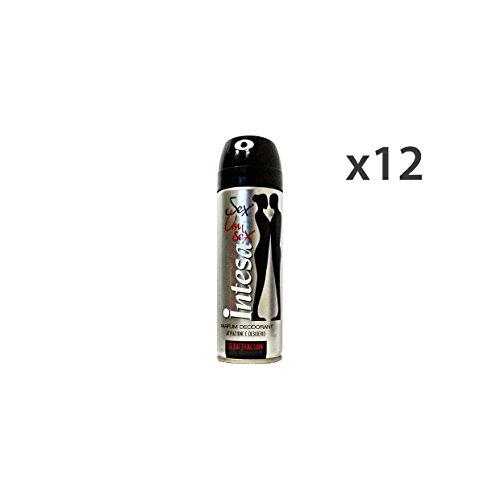 Set 12 INTESA Deodorante Spray UNISEX SEXATTRAction 125 Ml. Cura del corpo