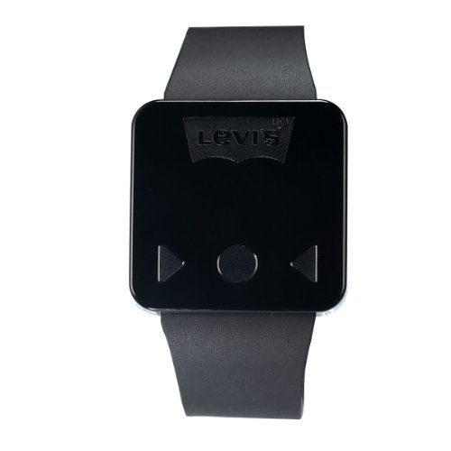 Levi's unisex schw. Digital Touchscreen LED Uhr schwarzes Kautschukarmb. LTH0906