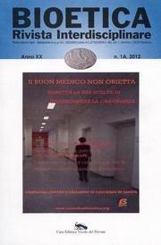 Bioetica (2012) vol. 1A por aa.vv.