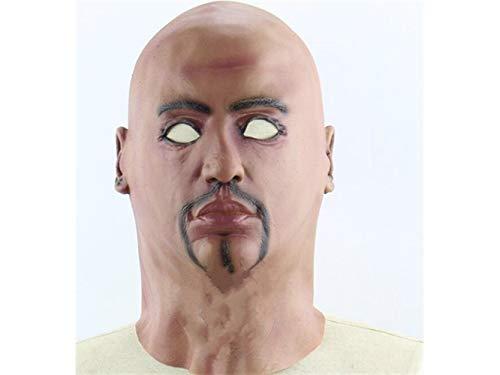VFK V Kreativ Scary Guy Head Cover Maske Horror Unterwelt Maske für Halloween Maskerade Party (Hautfarbe) Geschenk