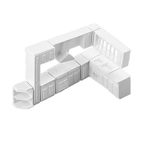 Noradtjcca Ganze kabinett küchenutensilien innenszenen sandkasten formmaterial DIY Handwerk Materialien DIY Spielzeug zubehör